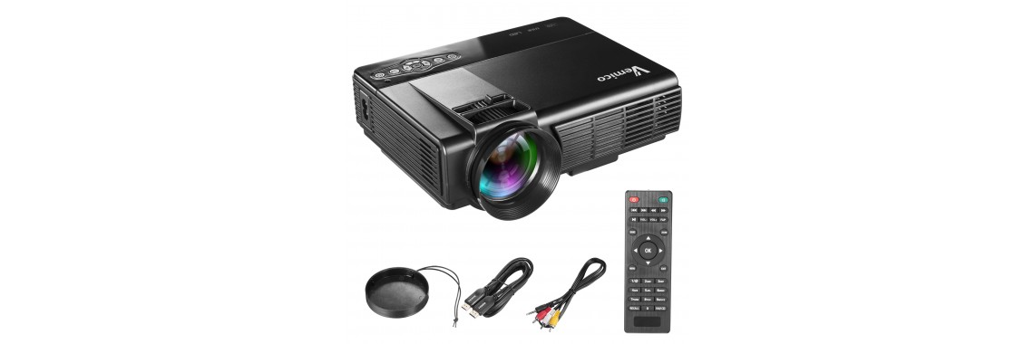 Vemico 1800 Lumens Video Projector